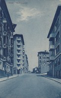 FIUME-VIA BUONARROTI-CARTOLINA VIAGGIATA IL 17-2-1943 - Kroatien