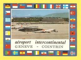 Postcard - Switzerland, Geneve Aerodromes     (V 33693) - GE Geneva