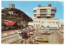 HONG KONG - PEAK TOWER RESTAURANT / OLD CARS-AUTOBUS / VW GOLF-FIAT 125 S - Cina (Hong Kong)