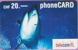 Télécarte Prépayée °° Suisse - FL CHF.20 - Requin - 6858-RV. - Suisse