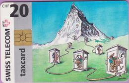 Télécarte Suisse °° SE.7. Montagne - 20CHF - Gem2 - 09.1996 -  R. - Suisse