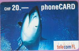 Télécarte Prépayée °° Suisse- FL CHF.20 -Requin - 2341-RV. - Suisse