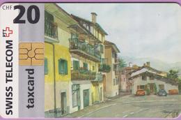 Télécarte Suisse °° SE.4. Lugano - 20CHF - Gem2 - 06.1996 - R. - Suisse