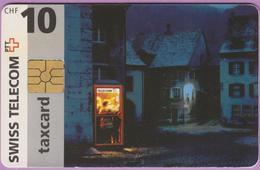 Télécarte Suisse °° SE.9A. -Cabine De Rue - 10CHF - Gem2 - 01.97-07.99 - R. - Suisse