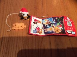 Kinder EN386 (Pingouin Noël) Avec BPZ - Montables