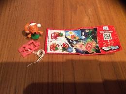 Kinder * EN385 (Renard Noël) Avec BPZ - Montables