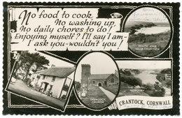 No Food To Cook, No Washing Up…. Crantock, Cornwall - England