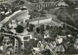 """/ CPSM FRANCE 22 """"Saint Brieuc, Lycée Renan Et Viaduc De Toupain"""" - Saint-Brieuc"""