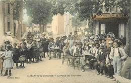 """RARE CPA COLORISÉE FRANCE 34 """"Saint Martin De Londres, La Place Des Touristes"""" - France"""