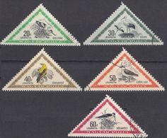 UNGHERIA - 1952 - Lotto Di 5 Valori Usati: Yvert Posta Aerea 119/123, Come Da Immagine. - Posta Aerea