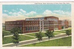 Iowa Iowa City Field House State University Of Iowa Curteich - Iowa City
