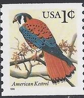 1996 USA American Kestrel Coil Stamp Bird Eagle Sc#3044 - Environment & Climate Protection