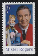 USA, 2018, 5275,Mister Rogers, Single Forever, MNH, VF - Unused Stamps