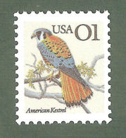 1991 USA American Kestrel Stamp Bird Eagle Sc#2476 - Environment & Climate Protection