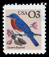 1991 USA Eastern Bluebird Stamp Bird  Sc#2478 - Environment & Climate Protection