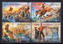AUSTRALIA, 2014 BUSH BALLADS BLOCK 4 MNH - 2010-... Elizabeth II