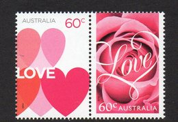 AUSTRALIA, 2014 LOVE PAIR MNH - 2010-... Elizabeth II