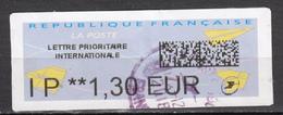 ##1, France, Vignette D'affranchissement - 2000 «Avions En Papier»