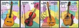 Spain 2011 - Musical Instruments ( Mi 4579/82 - YT 4284/87 ) Complete Issue - 1931-Aujourd'hui: II. République - ....Juan Carlos I