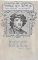 AK 0112  Ulrich Von Hutten ( Dichter ) - Verein  Freie Schule Um 1910-20 - Schriftsteller