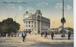AK 0113  Wien - Aspernplatz Mit Urania Um 1917 - Wien Mitte