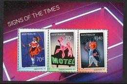 AUSTRALIA, 2015 SIGNS OF THE TIMES MINISHEET MNH - 2010-... Elizabeth II