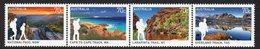AUSTRALIA, 2015 WALKS STRIP 4 MNH - 2010-... Elizabeth II