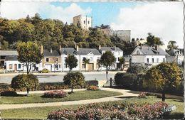 En Touraine, Montrichard (Loir-et-Cher) - Le Jardin Public Et Le Donjon - Editions Valoire - Carte Colorisée N° 4.571 - Montrichard