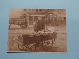 Jaak Maan En Herbricht HOSPITAAL DE PANNE 1917 ( Zie Foto Voor Detail ) Copie Van Foto / Postkaart ! - Lugares