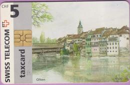 Télécarte Suisse °° SE.1. Olten - 5CHF - Gem2 - 06.1996 R. - Suisse
