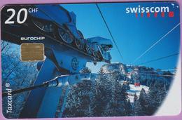 Télécarte Suisse °° SE.49. Waserauen-Ebenalp - 20CHF - CL1 - 01.1999 -  R. - Suisse