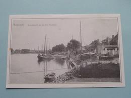 BAESRODE Scheldezicht On De Drie Huiskens ( Copie Van PostKaart / Bedrukt NEERHAREN ) Anno 19?? ( Zie Foto's ) ! - Dendermonde