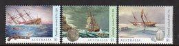 AUSTRALIA, 2017 SHIPWRECKS 3 MNH - 2010-... Elizabeth II