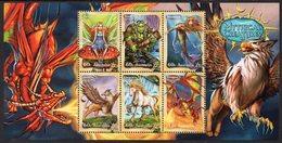 AUSTRALIA, 2011 MYTHICAL CREATURES MINISHEET MNH - 2010-... Elizabeth II