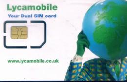 UK GSM SIM Cards, (1pcs,MINT) - Ver. Königreich