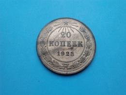 URSS - CCCP  20 Kopeck  1923 - Rusland