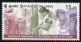 XE1207 Sri Lanka 2018 Rubber Industry Century 1V MNH - Sri Lanka (Ceylon) (1948-...)