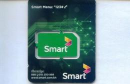 Cambodia GSM  SIM Cards, (1pcs,MINT) - Cambodia