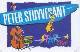 Kalender Calendrier - 1993 - Pub Reclame Sigaretten Peter Stuyvesant - Star Club - Calendriers