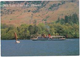 Ullswater - M.V.  'Lady Of The Lake' , Boat/Ship  -  (Lake District) - Cumberland/ Westmorland