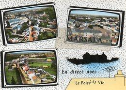 CPSM   Poiré Sur Vie  Multivues - Poiré-sur-Vie