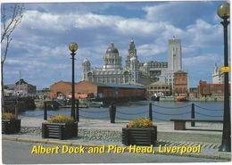 Albert Dock And Pier Head - Liverpool - John Hinde - Liverpool
