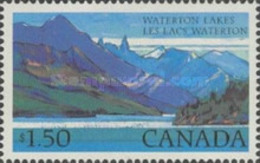 MNH**  STAMPS Canada - Waterton Lakes National Park -1972 - 1952-.... Reign Of Elizabeth II