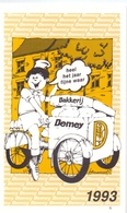 Kalender Calendrier - 1993 - Pub Reclame - Bakkerij Demey - Petit Format : 1991-00