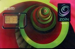 Uganda GSM  SIM Cards, (1pcs,MINT) - Uganda