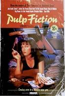 "RARE! AFF CINE US NEUVE ""PULP FICTION"" 69x104 Cm Tarantino 1998 - Posters"