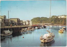 Portmadoc: South Snowdon Harbour - Yacht 'Croatia' - (Caernarvonshire, Wales) - Caernarvonshire