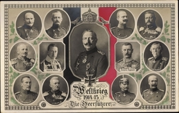 Cp Kaiser Wilhelm II. Von Preußen, Heerführer, Kronprinz Rupprecht, Ludendorff, Kluck - Royal Families