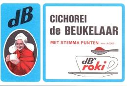 Kalender Calendrier - 1973 - Pub Reclame - Chicorei De Beukelaar - Antwerpen - Calendriers