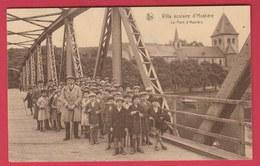 Hastière - Villa Scolaire - Groupe D'enfant Sur Le Pont - 1938 ( Voir Verso ) - Hastière